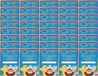 40X - WEBKINZ SERIES 3 FEATURE CODE CARDS (Forty Card Lot) New Unused Codes