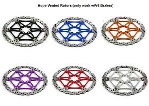 Hope MTB Mountain Bike Steel Floating Vented Disc Brake Rotor 140 160 183 203 MM