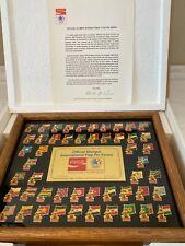 Summer Olympic Pin Collection 1964-1992 Pin Back Private Collection 1,184 Pins