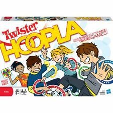 Twister Hoopla: With 5 Twists on Twister! Throw a party anytime, anywhere!  NEW