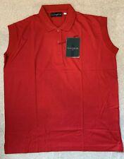 Glenmuir Golf Polo Shirt - Ferrari Red - Large
