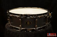 Noble and Cooley 4.75x14 Alloy Classic Black Snare Drum
