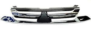 Mitsubishi Outlander 2016- front Bumper Grille Chrome