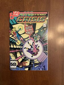 Crisis on Infinite Earths #4 (July, 1985 DC) 2nd app. John Constantine NM- KEY