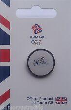 Oficial Equipo De Gb olímpico de natación pictograma Pin