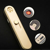 USB Charging Rechargeable Electronic Windproof Cigarette Cigar Lighter HOT MDS8