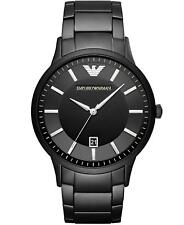 Emporio Armani AR11079 Men's Watch Black 43mm Stainless Steel