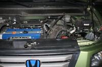 Carbon Fiber Performance Motor Air Intake Kit for 2003-2011 Honda Element 2.4L
