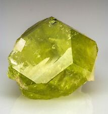 Superb Gem Brazilianite Crystal Corrego Frio Mine Brazil - Type Locality!