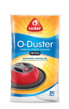 O-Cedar O-Duster Cleaning Pads Refill For Robotic Floor Cleaner Sweepers 20pc