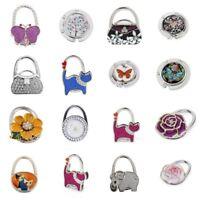 New 25 Styles Folding Bag Hanger Hook Handbag Tote Purse Table Hanger Holder