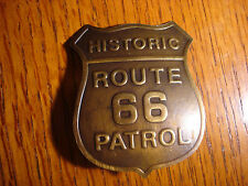Historic Route 66 Patrol BADGE OF THE OLD WEST WESTERN 578
