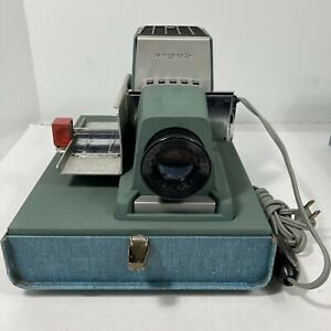 Argus 300 Automatic Model 501 Slide Projector Tested Working Vintage Retro MCM