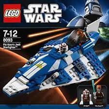 LEGO Star Wars  PLO  KOON'S  JEDI  STARFIGHTER   (#8093) BRAND  NEW  IN  BOX