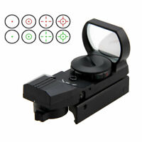 1 MOA Red Green Dot Sight Scope Electro Dot Tactical Scope fit 20mm Rails Rifle