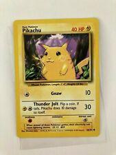 New ListingPokemon 1999 English Pikachu No 58/102 Base Nintendo Wizards WotC Tcg card �
