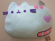 OFFICIAL Pusheen Cat Pastel mint green Exclusive Pillow bed sofa plush cushion