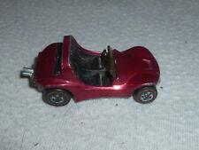 Vintage Hotwheels Redline Metallic Magenta Sand Crab Buggie Car Mattel Black Int