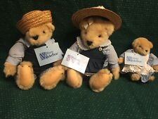 Original VanderBears -  Fluffy, Fuzzy, & Muffy Family - Retired 1982/1983