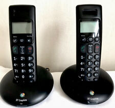 BT Graphite 2100 Digital Cordless Telephone Twin Set Tested New Batteries Fitted