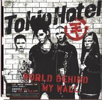 TOKIO HOTEL / WORLD BEHIND MY WALL - CARDBOARD SLEEVE SINGLE-CD 2010 * NEU *