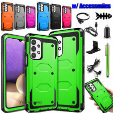 For Samsung Galaxy A32 5G Phone Case Shockproof Hybrid Rugged Rubber Hard Cover