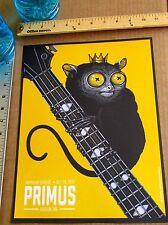 Primus Mini Concert Poster Reprint for 2012 Boston MA Gig  14x10
