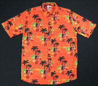 NWOT Baltimore Orioles Hawaiian Aloha SGA 2019 MLB Baseball Camp Mens Shirt XL