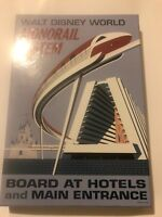 Walt Disney World Monorail System Board At Hotels And Main Entrance Artwork