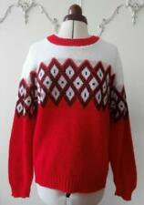 Acrylic Christmas Vintage Jumpers & Cardigans for Women