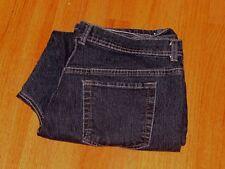 Women's Gloria Vanderbilt Dark Blue Regular Jeans Size 18 37 x 27 Exc Cond