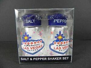 Salt & Pepper Shaker Las Vegas Poly Souvenir USA America, New,