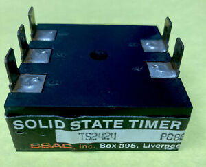 SSAC TS2424 SOLID STATE TIMER Adjustable PC88 120VAC 5283 EUC