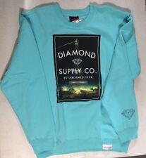 "Diamond Supply Co Men's Sweatshirt ""Paris"" Medium New"