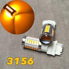 Reverse Backup Light T25 3156 3456 33 samsung LED Amber Bulb W1 For Buick Maz JA
