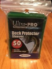 Ultra Pro Package of Card Sleeves   Green    Archival Safe    50 sleeves   NEW
