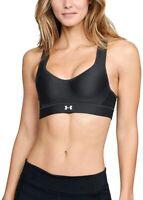 Under Armour 174528 Womens HeatGear High-Impact Sports Bra Black Size 32D