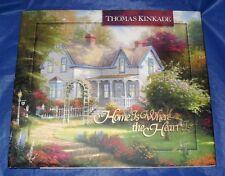 """HOME IS WHERE THE HEART IS""  HARDBACK BOOK BY:THOMAS KINKADE   ""BRAND NEW"""