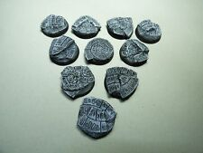 32mm RESIN BASES - HOLLY GROUND - 10 PCS - AGE OF SIGMAR - WARHAMMER 40K