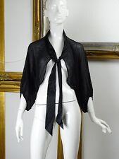 MAX & Co Italian made Blouse Cape tie Flashabiti Woman's Top Size 16 Large BNWT