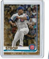 2019 topps series 1 Camo Parallel Pedro Strop #142 25/25 Chicago Cubs