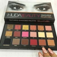 Huda Beauty Rose Gold Palette Glister Textured Shadows Palette Pallet Make Up
