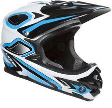 Lazer Phoenix Plus Full Face Helmet: Blue/White MD
