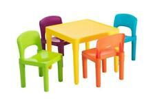 Lenoxx 7901 Table and Chairs for Kids - 5 Piece