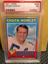 1971 Topps # 238 CHUCK HOWLEY  ** 4 CARD STAR L0T ** COWBOYS ** RF-6680