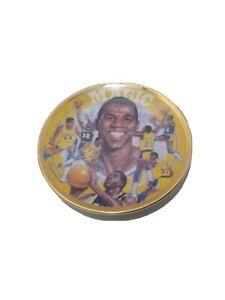 1992 Magic Johnson Sports Impressions Gold Edition Plate Numbered LA Lakers NBA