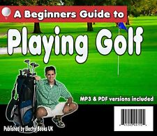 Learn HOW TO Play golf Audio CD (Beginners)   FREE POST