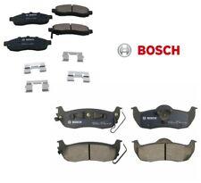 Set of Front & Rear Disc Brake Pads Bosch for Infiniti QX56 Nissan Armada