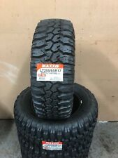 TWO X 255 65 17 Maxxis MT762 114Q Mud Terrain 4x4 Tyres 255 65 17 2 X TYRES