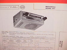 1957 MOTOROLA AM RADIO SERVICE MANUAL MODEL 397 CHEVROLET FORD CHRYSLER DODGE